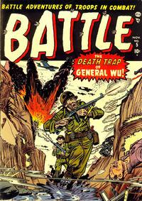 Cover Thumbnail for Battle (Marvel, 1951 series) #5