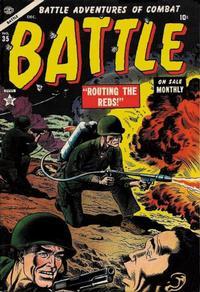 Cover for Battle (Marvel, 1951 series) #35
