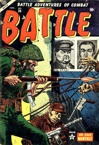 Cover for Battle (Marvel, 1951 series) #36