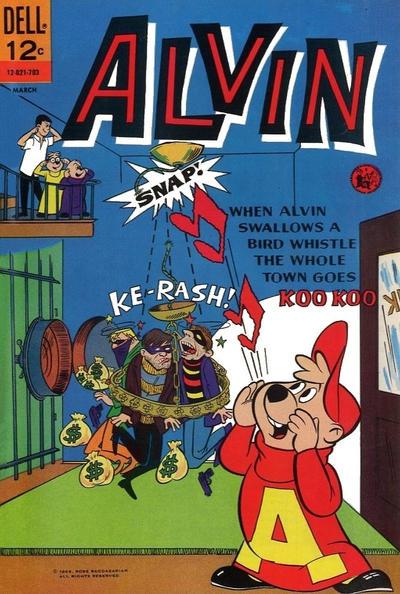 Cover for Alvin (Dell, 1962 series) #18