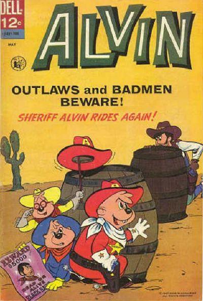Cover for Alvin (Dell, 1962 series) #19