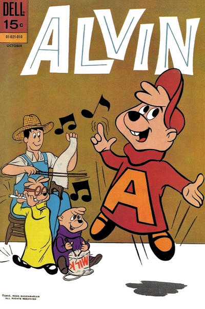 Cover for Alvin (Dell, 1962 series) #21