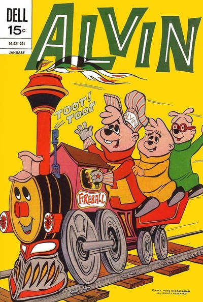 Cover for Alvin (Dell, 1962 series) #23
