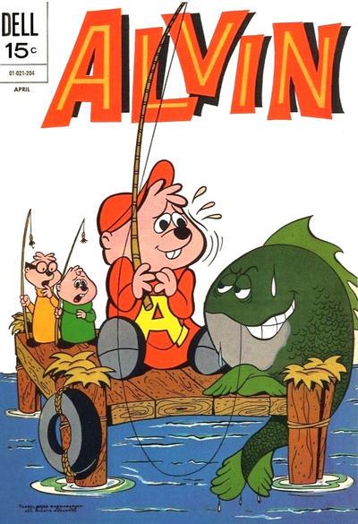 Cover for Alvin (Dell, 1962 series) #24