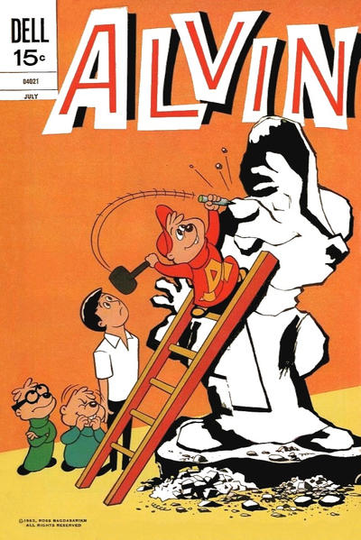 Cover for Alvin (Dell, 1962 series) #25