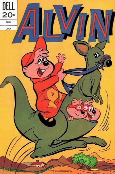 Cover for Alvin (Dell, 1962 series) #27