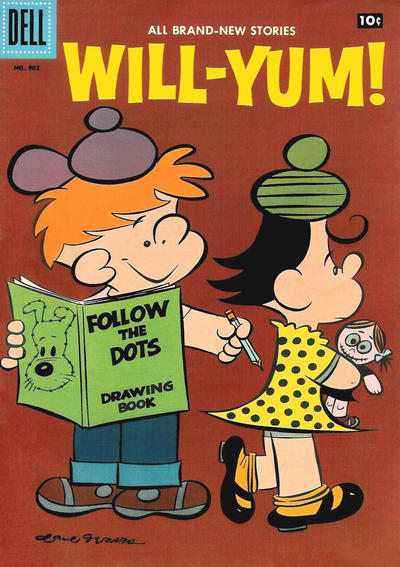 Cover for Four Color (Dell, 1942 series) #902 - Will-Yum!