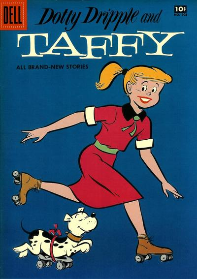 Cover for Four Color (Dell, 1942 series) #903 - Dotty Dripple and Taffy