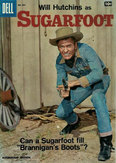Cover for Four Color (Dell, 1942 series) #907 - Sugarfoot