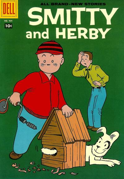 Cover for Four Color (Dell, 1942 series) #909 - Smitty