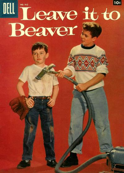 Cover for Four Color (Dell, 1942 series) #912 - Leave It to Beaver