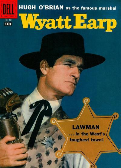 Cover for Four Color (Dell, 1942 series) #921 - Wyatt Earp