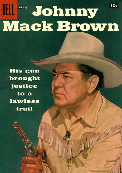 Cover for Four Color (Dell, 1942 series) #922 - Johnny Mack Brown