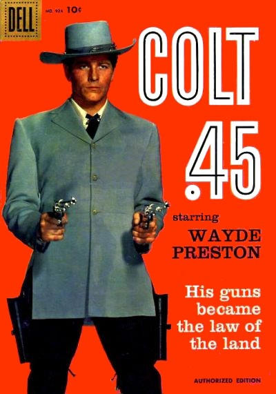 Cover for Four Color (Dell, 1942 series) #924 - Colt .45