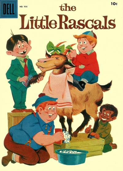 Cover for Four Color (Dell, 1942 series) #936 - The Little Rascals