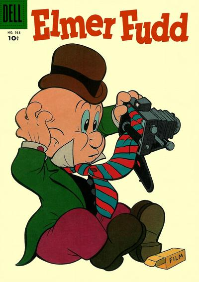 """Cover for Four Color (Dell, 1942 series) #938 - Elmer Fudd [""""Now"""" cover variant]"""