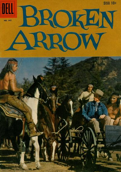 Cover for Four Color (Dell, 1942 series) #947 - Broken Arrow