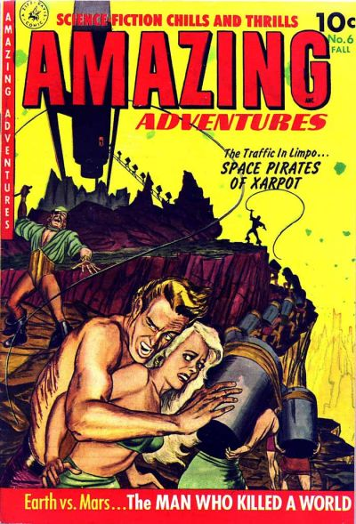Cover for Amazing Adventures (Ziff-Davis, 1950 series) #6