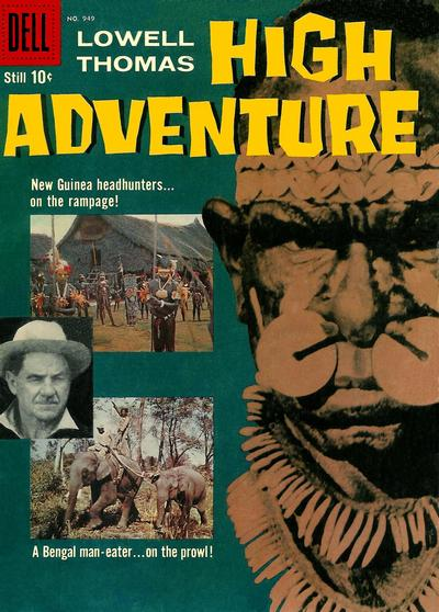 Cover for Four Color (Dell, 1942 series) #949 - High Adventure