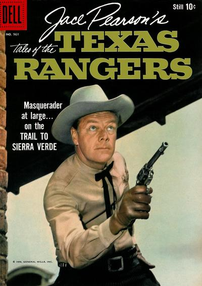 Cover for Four Color (Dell, 1942 series) #961 - Jace Pearson's Tales of the Texas Rangers