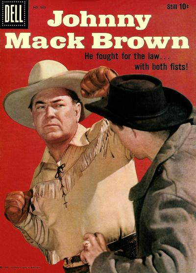 Cover for Four Color (Dell, 1942 series) #963 - Johnny Mack Brown
