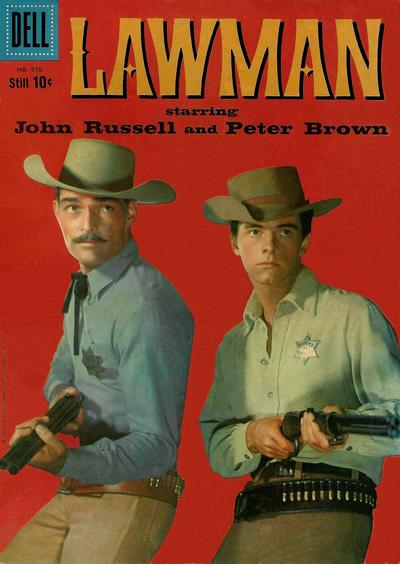 Cover for Four Color (Dell, 1942 series) #970 - Lawman