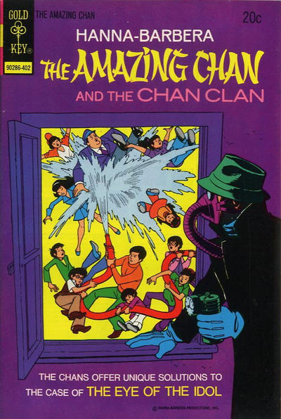 Cover for Hanna-Barbera The Amazing Chan and the Chan Clan (Western, 1973 series) #4