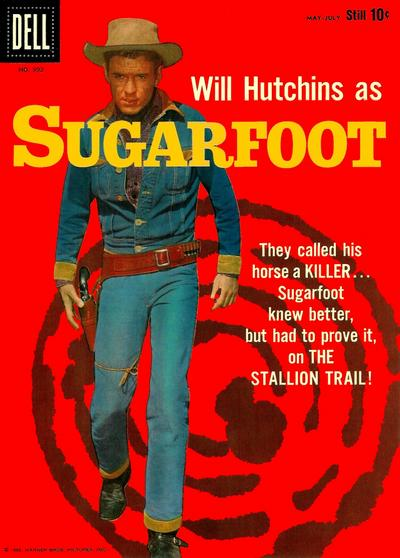 Cover for Four Color (Dell, 1942 series) #992 - Sugarfoot