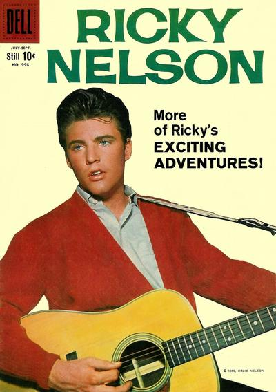 Cover for Four Color (Dell, 1942 series) #998 - Ricky Nelson