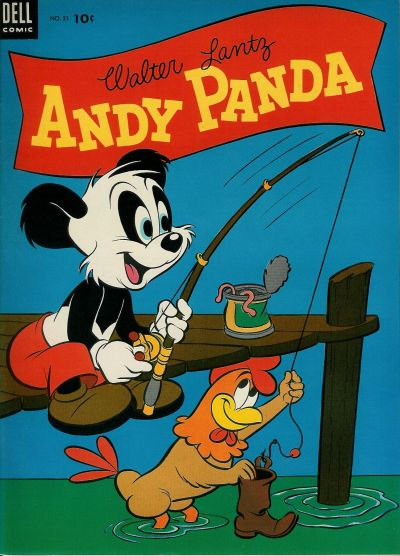 Cover for Walter Lantz Andy Panda (Dell, 1952 series) #21