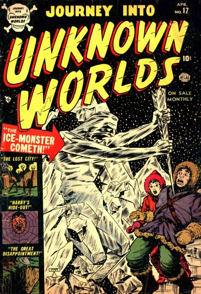 Cover for Journey into Unknown Worlds (Marvel, 1951 series) #17
