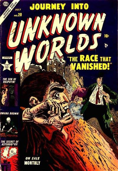 Cover for Journey into Unknown Worlds (Marvel, 1951 series) #20