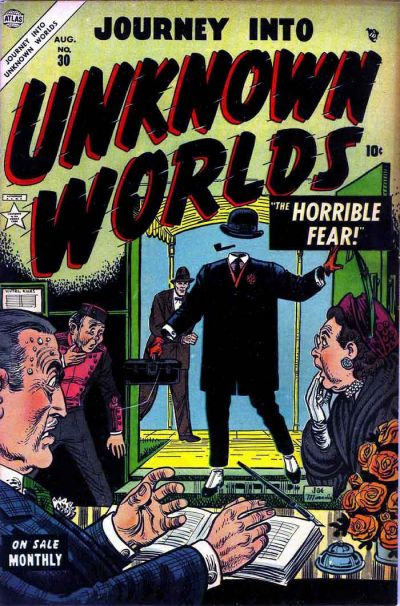 Cover for Journey into Unknown Worlds (Marvel, 1951 series) #30