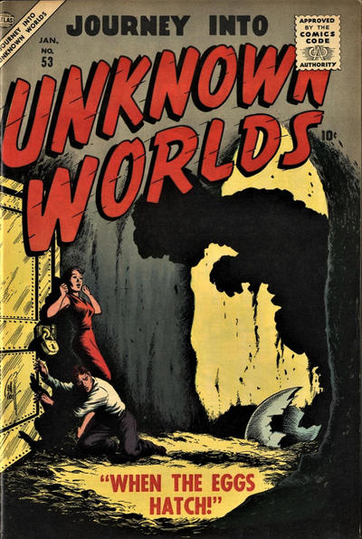 Cover for Journey into Unknown Worlds (Marvel, 1951 series) #53