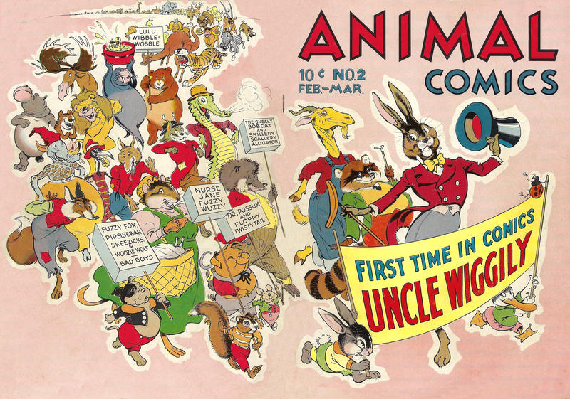 Cover for Animal Comics (Dell, 1942 series) #2