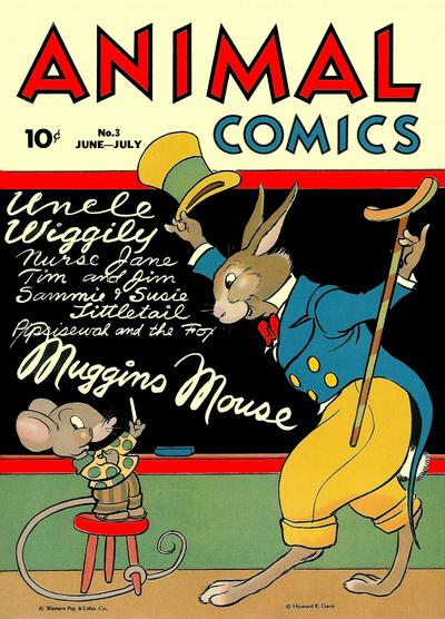 Cover for Animal Comics (Dell, 1942 series) #3