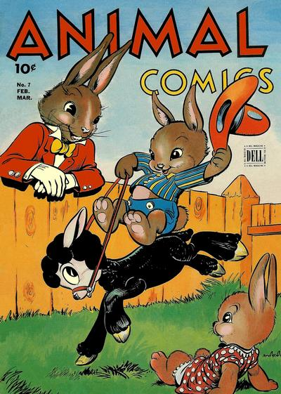 Cover for Animal Comics (Dell, 1942 series) #7