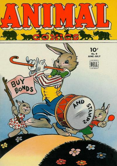 Cover for Animal Comics (Dell, 1942 series) #9