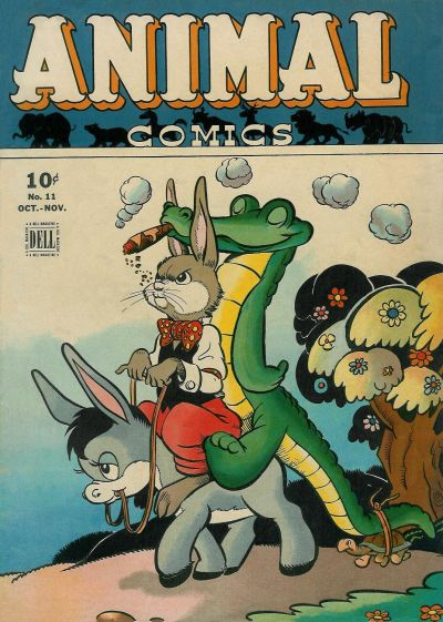 Cover for Animal Comics (Dell, 1942 series) #11