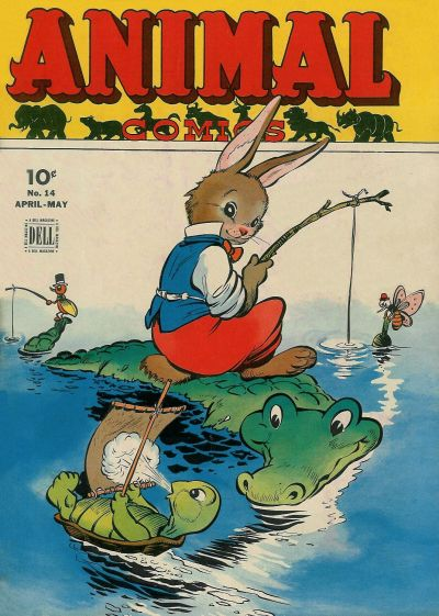 Cover for Animal Comics (Dell, 1942 series) #14