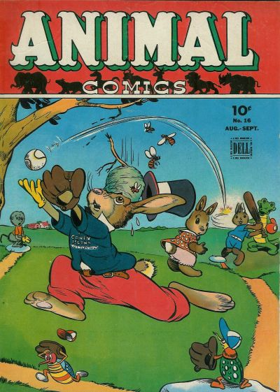 Cover for Animal Comics (Dell, 1942 series) #16