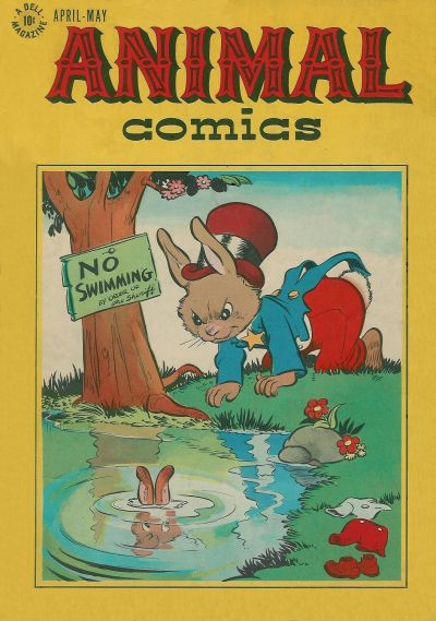Cover for Animal Comics (Dell, 1942 series) #20