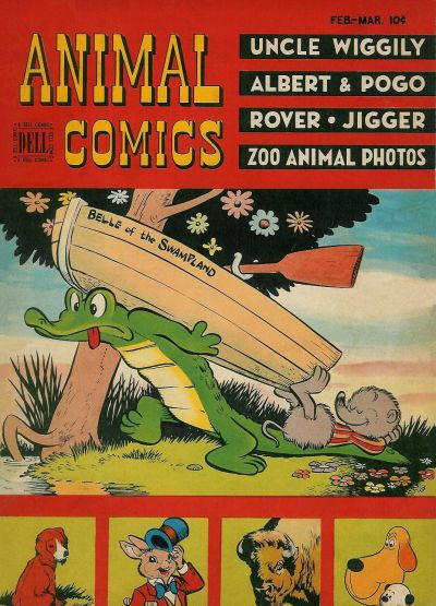 Cover for Animal Comics (Dell, 1942 series) #25