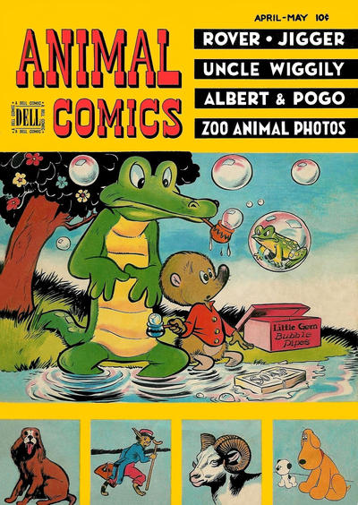 Cover for Animal Comics (Dell, 1942 series) #26