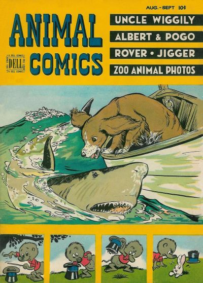 Cover for Animal Comics (Dell, 1942 series) #28