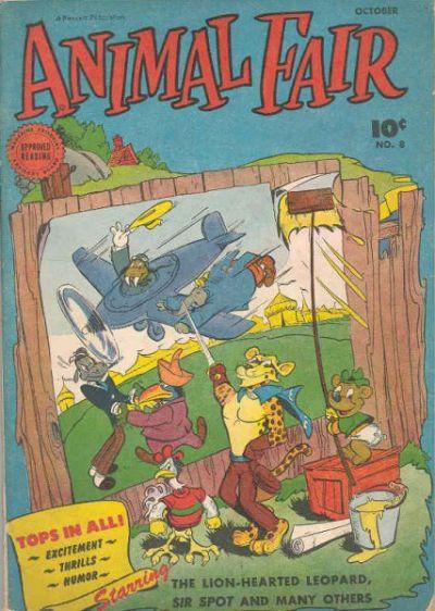 Cover for Animal Fair (Fawcett, 1946 series) #8