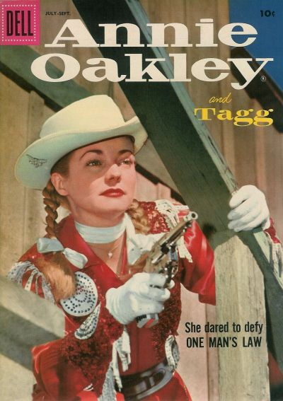 Cover for Annie Oakley and Tagg (Dell, 1955 series) #12
