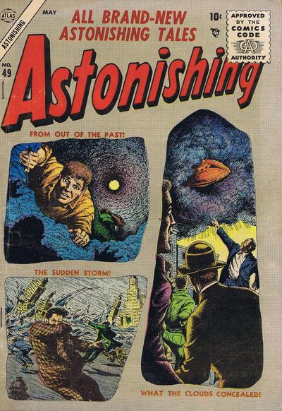 Cover for Astonishing (Marvel, 1951 series) #49