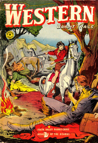 Cover for Approved Comics (St. John, 1954 series) #9