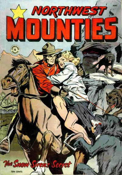Cover for Approved Comics (St. John, 1954 series) #12